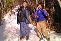 鷹ノ巣山は雪の??