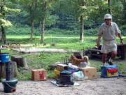 七輪と炊飯器